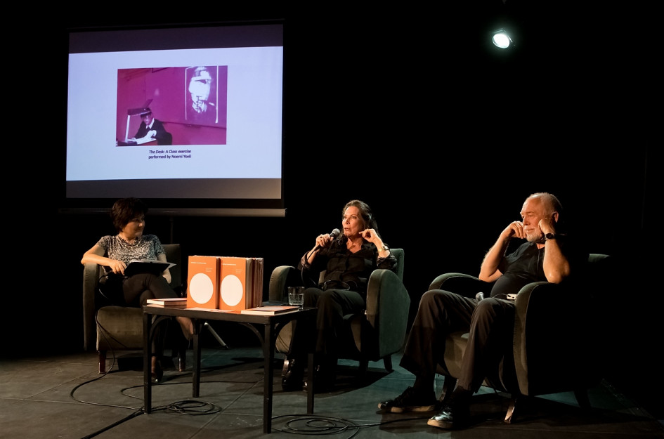 Theory Event / lecture , presentation of the anthology of contemporary Israeli drama, published by the Theatre Institute